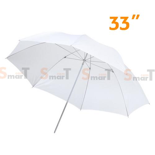 Umbrella ร่มทะลุ White Photo Studio Diffuser 84cm (33Inch)