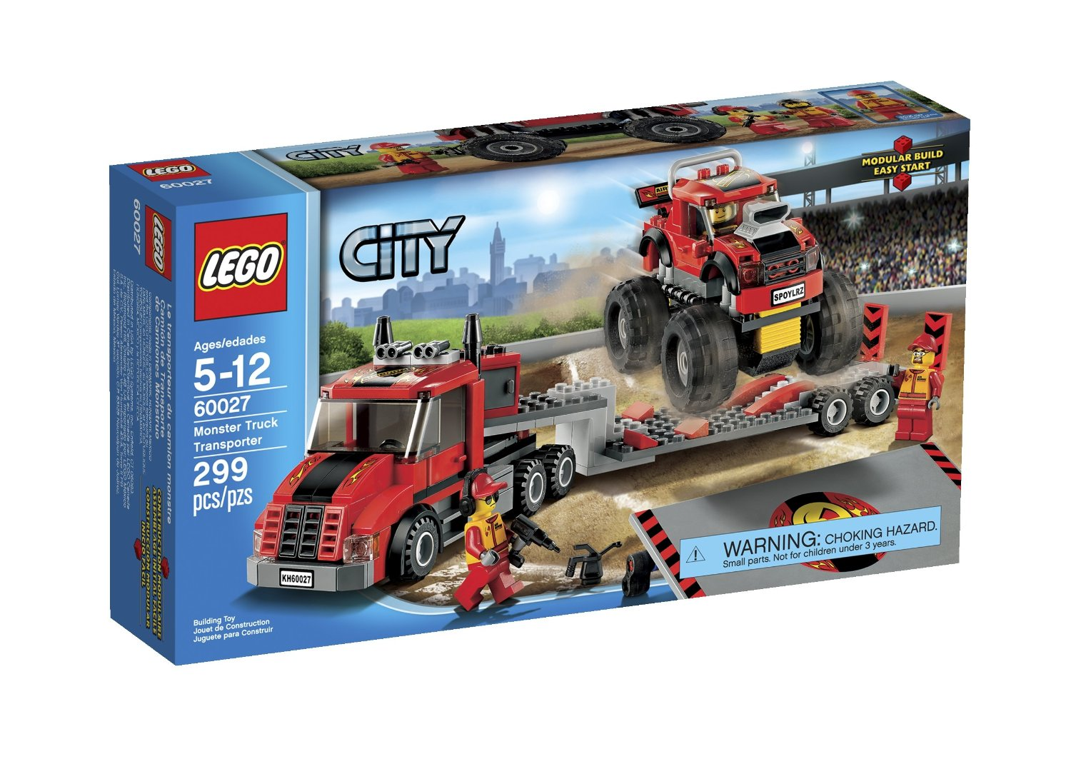Lego City 60027 : Monster Truck Transporter