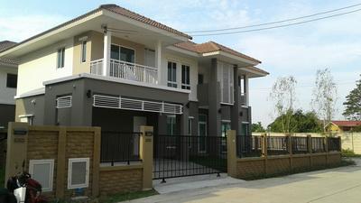 H643 ขาย บ้านเดี่ยว 81.8 ตร.วา ม.ดีไลท์ แอทซีน วัชรพล-จตุโชติ บ้านใหม่ หลังมุมติดสวน 4นอน 5น้ำ