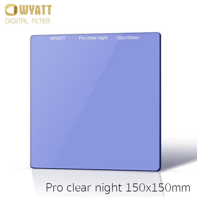 WYATT 150x150mm Square Natural Night Clear-Night Light Pollution Glass Filter สำเนา