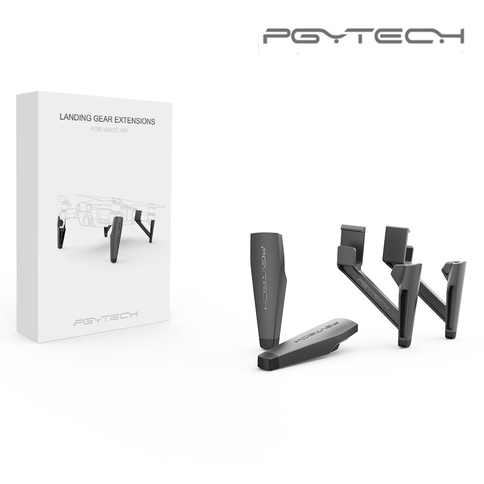 PGYTECH Extended Landing Gear For DJI Mavic Air Leg Support Protector Extension Replacement Fit for DJI Mavic Air