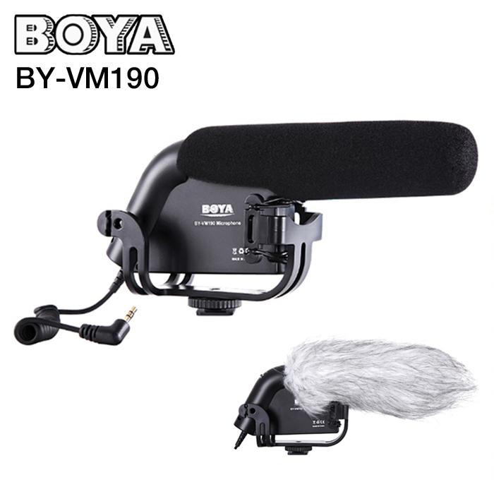 Microphone BOYA BY-VM190 Hot Shotgun Microphone