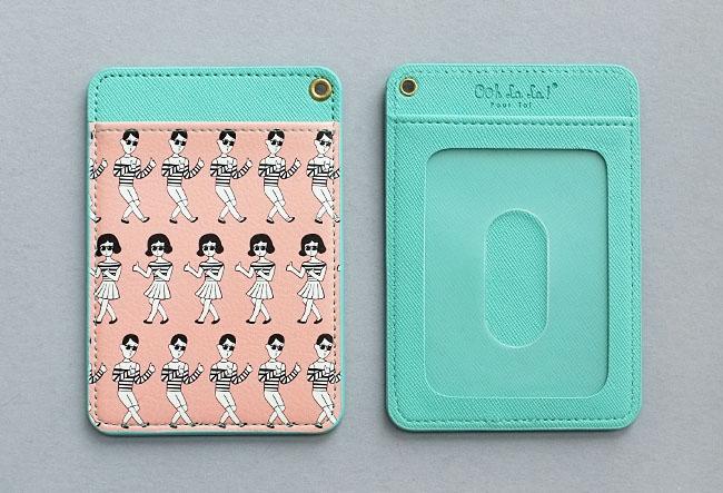TABOM PINK CARD POCKET