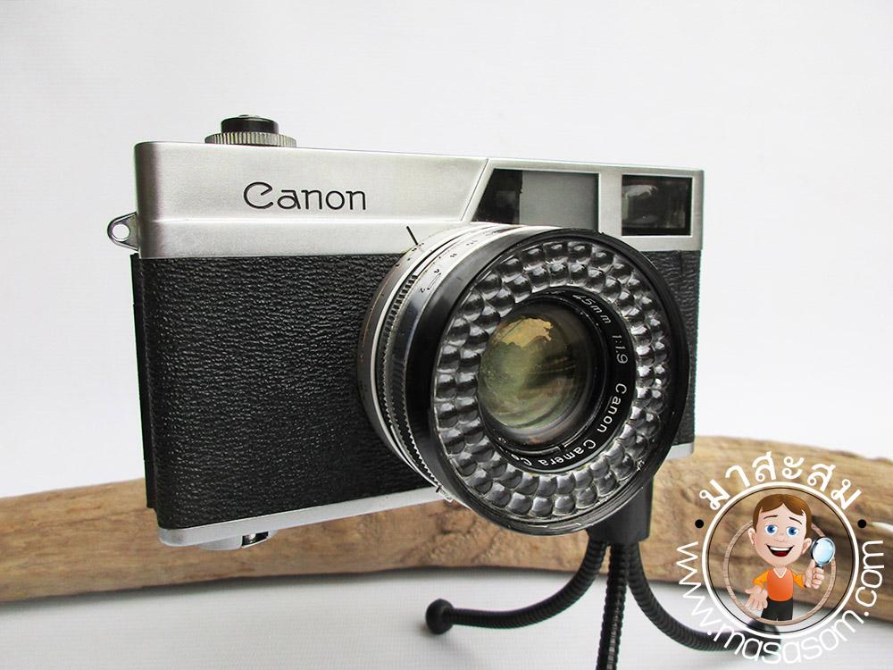 กล้องถ่ายรูป Canon canonet