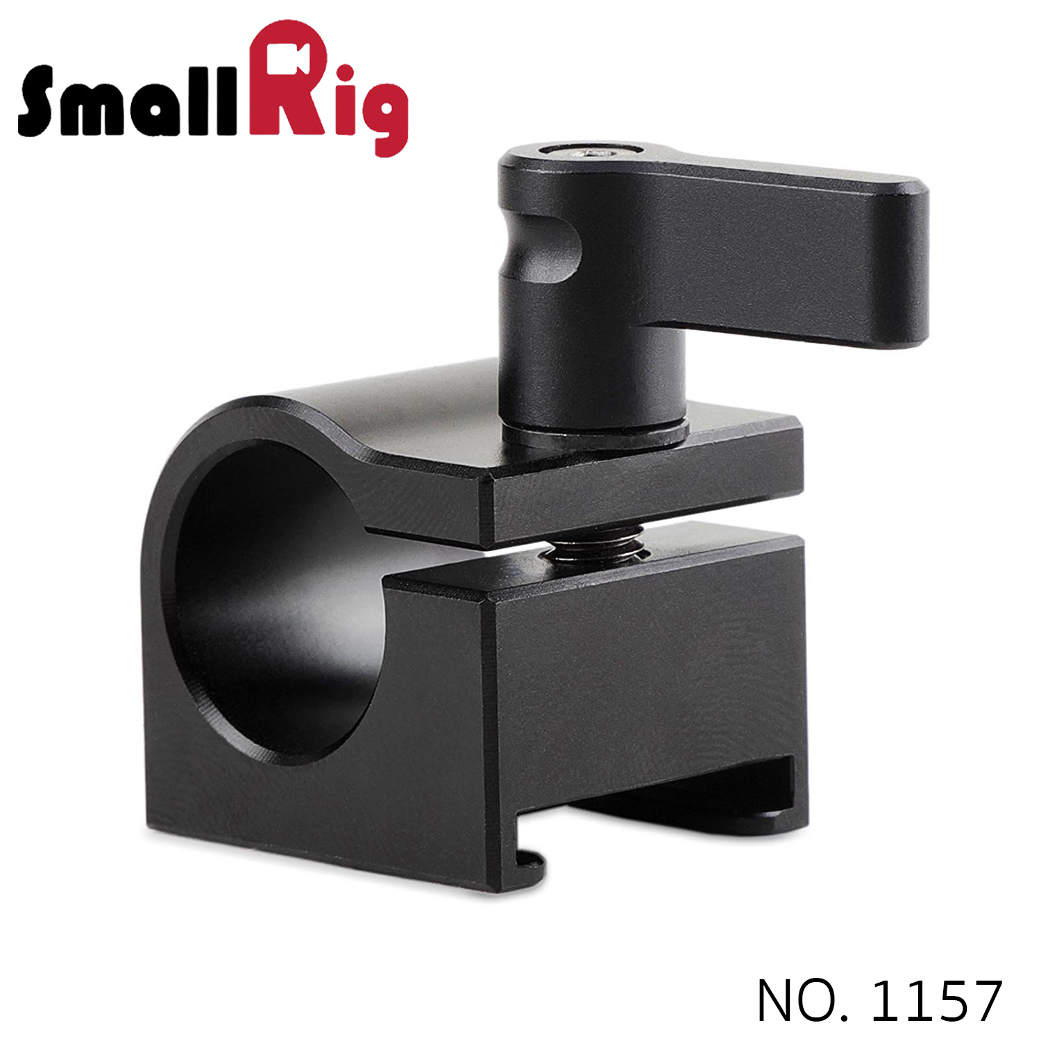 SMALLRIG® 15mm Rod Clamp with Cold Shoe 1157