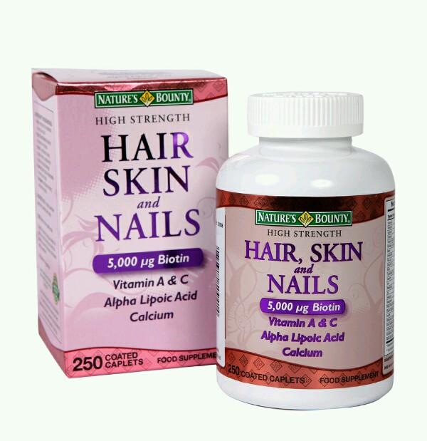 เฉพาะหมวด Promotion (นักช้อป-แม่ค้า) > Nature's Bounty Hair Skin and Nails
