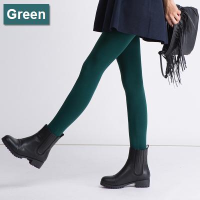 เลกกิ้งกันหนาว สีเขียว