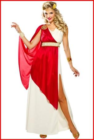 ชุดโรมันกรีกหญิง
