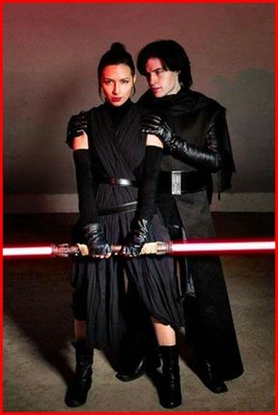 ชุดเรย์ ดาร์กไซด์ Rey Dark Side