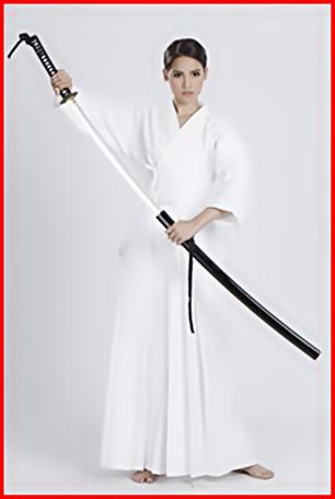 ชุดฮากามะ สีขาว