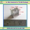1x Mini Heatsink for TO-220 Package (แผ่นระบายความร้อน)