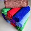 ขายส่ง ผ้าเช็ดผมนาโน สีพื้นอัดลาย (แบบหนา) 30*70 cm ส่ง 16 บาท