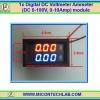 1x Digital DC Voltmeter Ammeter (DC 0-100V, 0-10Amp) Red/Blue module