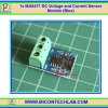 1x MAX471 DC Voltage and Current Sensor Module (Blue)