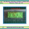 10x Resistor 330 Ohm 1/8 Watt 1% Metal film Resistor (10pcs per lot)