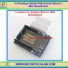 1x บอร์ดซีลส์ Arduino เอนกประสงค์พร้อมมินิเบรดบอร์ด (Prototype Shield PCB Arduino Board + Mini Breadboard)