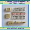5x HOUSING CONNECTOR 6 PINS + 30x CRIMP TERMINAL 2.54mm