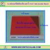 1x แผ่นอะคริลิคสีแดงใส 6x8 นิ้ว หนา 3 มม (Acrylic Sheet)