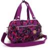 กระเป๋าเนื้อ kipling + สะพาย ใบเล็ก สีม่วง