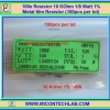 100x Resistor 10 Kohm 1/8 Watt 1% Metal film Resistor (100pcs per lot)