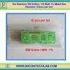 10x Resistor 500 Kohm 1/8 Watt 1% Metal film Resistor (10pcs per lot)