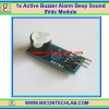 1x Active Buzzer Alarm Beep Sound 5Vdc Module