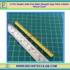 1x Pin Header 2x40 Pins Male Straight Type Pitch 2.54mm (Yellow Color)