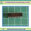 1x PT2262 Remote Control Encoder IC Chip (ไอซีเข้ารหัสรีโมทคอนโทรล)