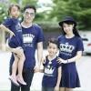 เสื้อครอบครัว ชุดครอบครัว ผ้าเนื้อนิ่ม มาครบ พ่อ แม่ ลูกสาว ลูกชาย : Prince ,Princess and Little prince and princess