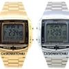 นาฬิกา CASIO นาฬิกาคู่ เรือนทอง เรือนเงิน รุ่น มาริโอ้ DB-360-1 เรือนเงิน กับ DB-360G-9 เรือนทอง ประกัน