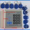 1x RFID Security Entry Door Lock Access Control System K2000 + 10 key Tags