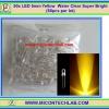 50x LED 5mm Yellow Water Clear Super Bright (50pcs per lot)