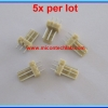 5x WAFER CONNECTOR 3 PINS STRAIGHT PIN 2.54mm (5 pcs per lot)