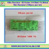 100x Resistor 50 Kohm 1/4 Watt 1% Metal film Resistor (100pcs per lot)