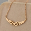 Miss Jin Xianglian 14k rose gold necklace