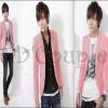 PRE-ORDER เสื้อสูทแฟชั่นแบบใหม่ เสื้อสูทสีชมพูเข้ารูปทรงสวย