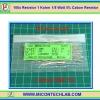 100x Resistor 1 Kohm 1/8 Watt 5% Cabon Resistor