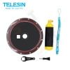 TELESIN 2nd Aluminum version dome port for the Gopro Hero3/3+/4
