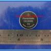 1x LITHIUM COIN BATTERY CR2032 3V Panasonic