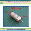 1x ZGA25RP DC Gear Box Motor 12V 300 rpm Dia 25 mm Shaft Dia 4mm