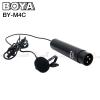 Microphone BOYA BY-M4C Cardiod Lavalier for XLR