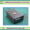 1x กล่อง FB04 สีดำ ขนาด 89x134x45 มม. Future Box