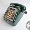 โทรศัพท์หยอดเหรียญสีเขียว