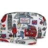 กระเป๋าสตางค์ Chalita wu สีขาว ลายลอนดอน
