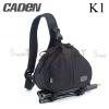 กระเป๋ากล้อง CADEN K1 สีดำ (Black)
