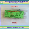 10x Resistor 10 Ohm 1/4 Watt 1% Metal film Resistor (10pcs per lot)
