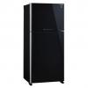 ตู้เย็น 2 ประตู SHARP SJ-X550GP-BK 19.7Q กระจกดำ ใหม่ประกันศูนย์ โทร 097-2108092, 02-8825619, 063-2046829