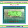 100x Resistor 2 Kohm 1/8 Watt 5% Cabon Film Resistor