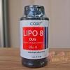 Lipo8 ลดน้ำหนัก ดักไขมัน ยอดนิยม Lipo 8 Dug ฝาดำ (50เม็ด)