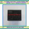 1x Relay 5 Vdc Rating 10A 250VAC / 24Vdc Form 1C HRS4H-S-DC5V-C
